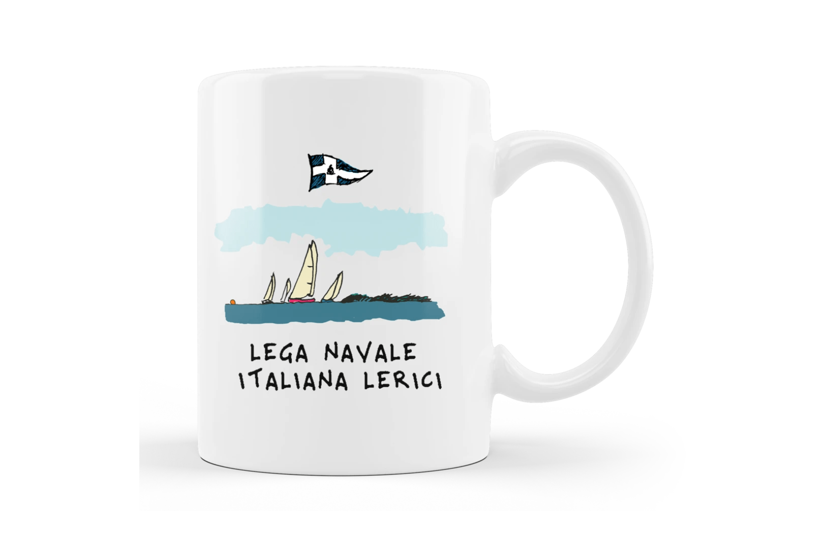 """Tazza """" Lega Navale Lerici """" 1"""