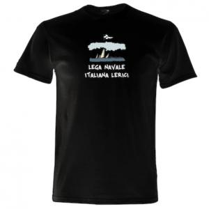 "T-shirt "" Lega Navale Lerici "" nera"