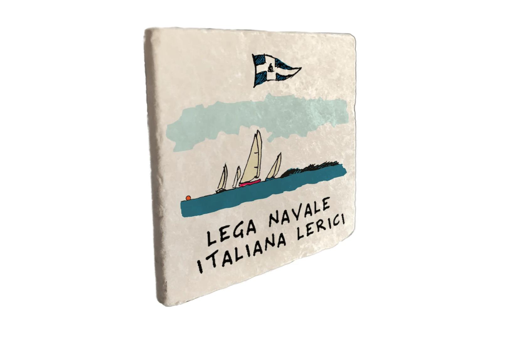 """Marmo """"Lega Navale Lerici"""""""